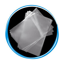100 OPP Resealable Plastic Wrap Bags for 7mm Slim DVD Case Peal & Seal