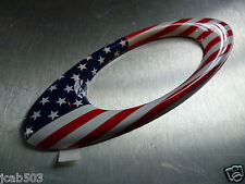 "NEW! Oakley METAL ICON 5"" Sticker Decal USA Country Flag DISPLAY"