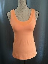 Lululemon Turbo Tank Orange/ Tangerine Racerback Sports Bra Yoga Size 4