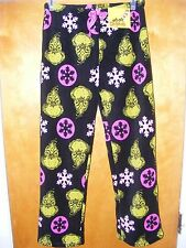 NEW Women's Sleep Lounge Pants Dr. Seuss Grinch Stole Christmas XL / X-LARGE