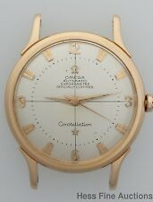 Early 1952 18k Rose Gold Bumper Automatic Omega Constellation Vintage Watch