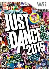 Just Dance 2015 RE-SEALED COMPLETE Nintendo Wii & WII U GAME 15 2K15 GAME