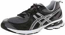 ASICS T428N GEL-FIERCE Running Shoes Men's 10 (Black/Onyx/Storm) NEW $109.99