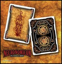 Bicycle MYTHOS: NECRONOMICON Playing Cards Deck by 4PM Designs