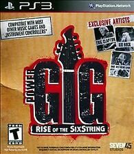 PS3 Game Power GIG Rise Of The Six String BRAND NEW UNOPENED