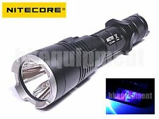 NiteCore MH27UV MH27 UV Cree XP-L HI V3 UV 365nm RED BLUE LED 1000lm Flashlight