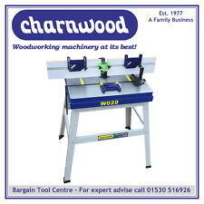 CHARNWOOD New Upgraded Model W020 Cast Iron Floorstanding Router Table