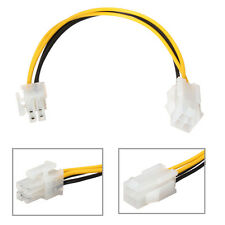 8''20cm ATX 4 Pin Male A 4 Pin P4 Femelle CPU Alimentation Power Extension Cable