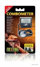 EXO TERRA THERMO-HYGRO COMBO DIGITAL METER THERMOMETER HYDROMETER REPTILE