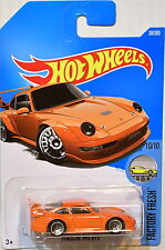 HOTWHEELS 10/10 PORSCHE 993 GT2 SPORT CAR FACTORY FRESH 30/365 HOT WHEELS