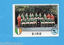 SPORT SUPERSTARS/EURO FOOTBALL 82-PANINI-Figurina n.283- IRLANDA TEAM -Rec