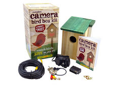 Bird Box Camera Kit - Quality, Colour, Night vision, Sound, cable, FREE nest box