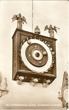 Dorset: Old Astronomical Clock, Wimborne Minster - Unposted c1950s - RP