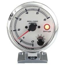 95mm 3 3/4 inches Tachometer 0-6000 RPM with shift light for Diesel Engine