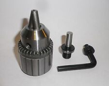 "Sherline 1/2"" Jacobs Drill Chuck on MT0 Arbor "" NEW """