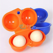 Practical Egg Storage Box For 2 Egg Case Container Outdoor Camping Carrier