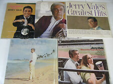 Lot of 5 JERRY VALE crooner LPs Remember Russ,Where's Playground Susie,Born Free