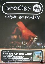 """PRODIGY 1998 AUSTRALIAN """"FAT OF THE LAND TOUR"""" CONCERT POSTER -SMACK MY BITCH UP"""