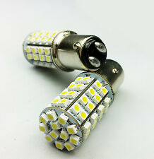 P21/5W 380 BAY15d WHITE YELLOW 60 SMD LED SIDELIGHTS INDICATOR CAR BULBS DUAL D