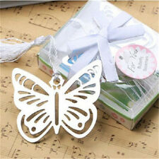 FD3379 Nice Butterfly Creative Exquisite Alloy Bookmarks With Ribbon Box Gift♫