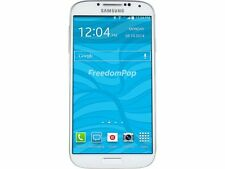 100% Free Mobile Phone Service w/ Samsung Galaxy S4 White - FreedomPop (Certifie