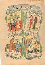 Caricature Snobisme Parisiens Parisiennes Mode Fashion Paris Voiture Vendre 1932
