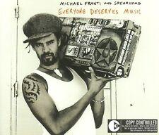 MICHAEL FRANTI + SPEARHEAD - Everyone Deserves Music - cd maxi single funk
