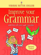 Usborne Better English Improve Your Grammar with Lots of Tests and Puzzles PB