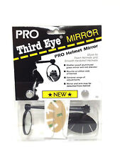 THIRD 3rd EYE BIKE BICYCLE PRO HELMET MIRROR BLACK NEW