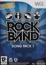 Wii Spiel Rockband Rock Band Song Pack 1 I Neu