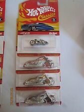 Hot Wheels Classic Series 1 Go Cart Scorchin Scooter Lot of 4