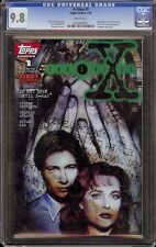 X-Files # 1 White (Topps, 1995) 1st appearance Mulder & Scully in comics