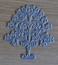 Metal Cutting Dies - Detailed FLOURISH TREE (Trees)