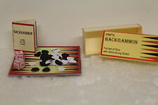 DOLLS HOUSE ( Handcrafted  Boxed Back Gammon Game