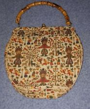 L & M A Spotlight Exclusive Vintage Tapestry Handbag #Vintagetribal #oldtapestry