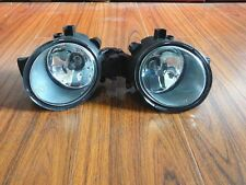 1Pair Clear Lens Front Fog Lights Lamps For Nissan Qashqai 2008-2014
