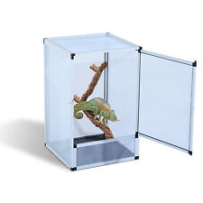 Large Screen Reptile Cage Aluminum Breeding Box Pet Insect Lizard Snake Habitat