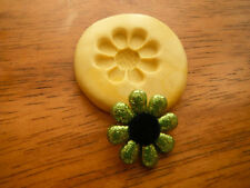Daisy Flower Silicone Mold-for polymer clay, resin, wax, fondant, candy, etc.