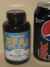 Organic Virgin Avocado Oil Supplement, 60 day supply, 1000 mg per softgel