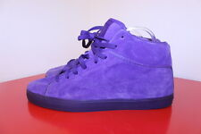 Reebok Shoes 13 Purple Suede Leather T Raww Mid Top Casual Retro Fashion Sneaker