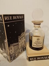 RUE ROYALE by Molyneux, sealed, signed Baccarat perfume in box