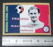 FRANCE ROBERT MOUYNET OLYMPIQUE LYON OL COUPE MONDE FOOTBALL 1958 STYLE PANINI