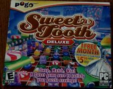 Pogo Sweet Tooth Deluxe, PC Video Game - BRAND NEW IN PACKAGE