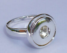 Mini Snap It Ring  (Size 9 1/4)  Fit Mini Snap Buttons