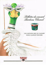 PUBLICITE ADVERTISING 024   1992   BORDEAU CHESNEL   rillettes de Canard