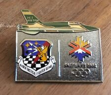 419th Tactical Fighter Wing Salt Lake City 2002 Olympic Pin
