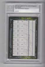2014 Leaf Legends of the Links DON JANUARY Auto Autograph #13/20