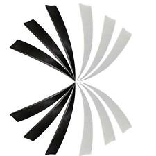 100x 5'' Right Wing Shield Cut Natural Archery Arrows Turkey Feathers Fletching