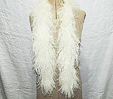 JANES TORQUAY CURLED SHEEP BOA SCARF OR COLLAR  CREAM SMART VERSATILE