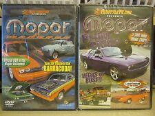 Lot of 2 NEW MOPAR DVDs: Mopar Madness, Mopar Plum Crazy: Vegas or Bust